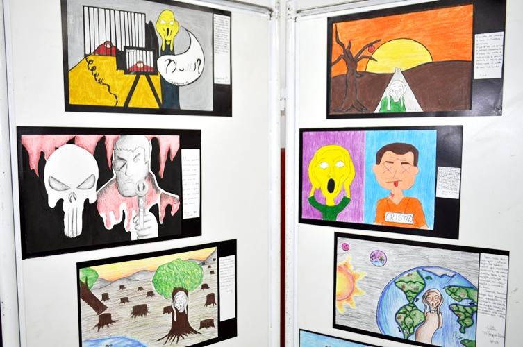 """Releituras De """"O Grito"""" (Edvard Munch)"""