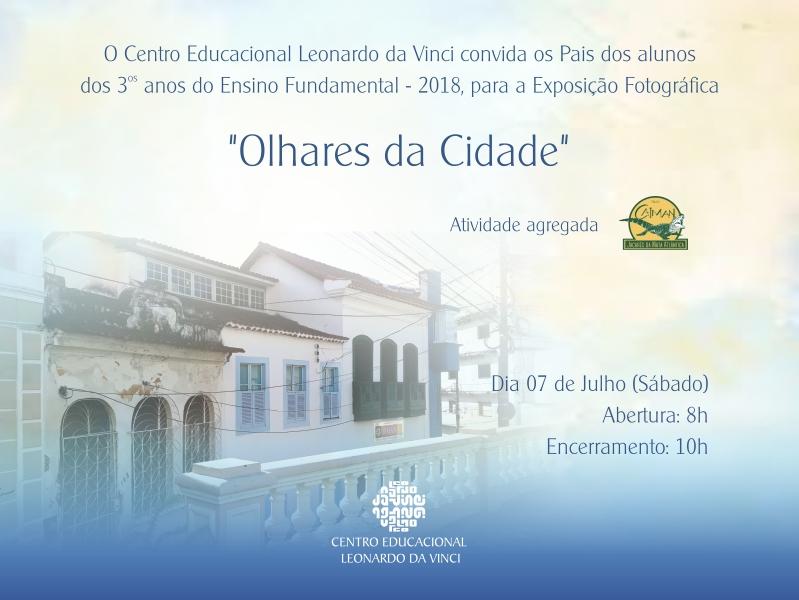 CONVITE OLHARES DA CIDADE