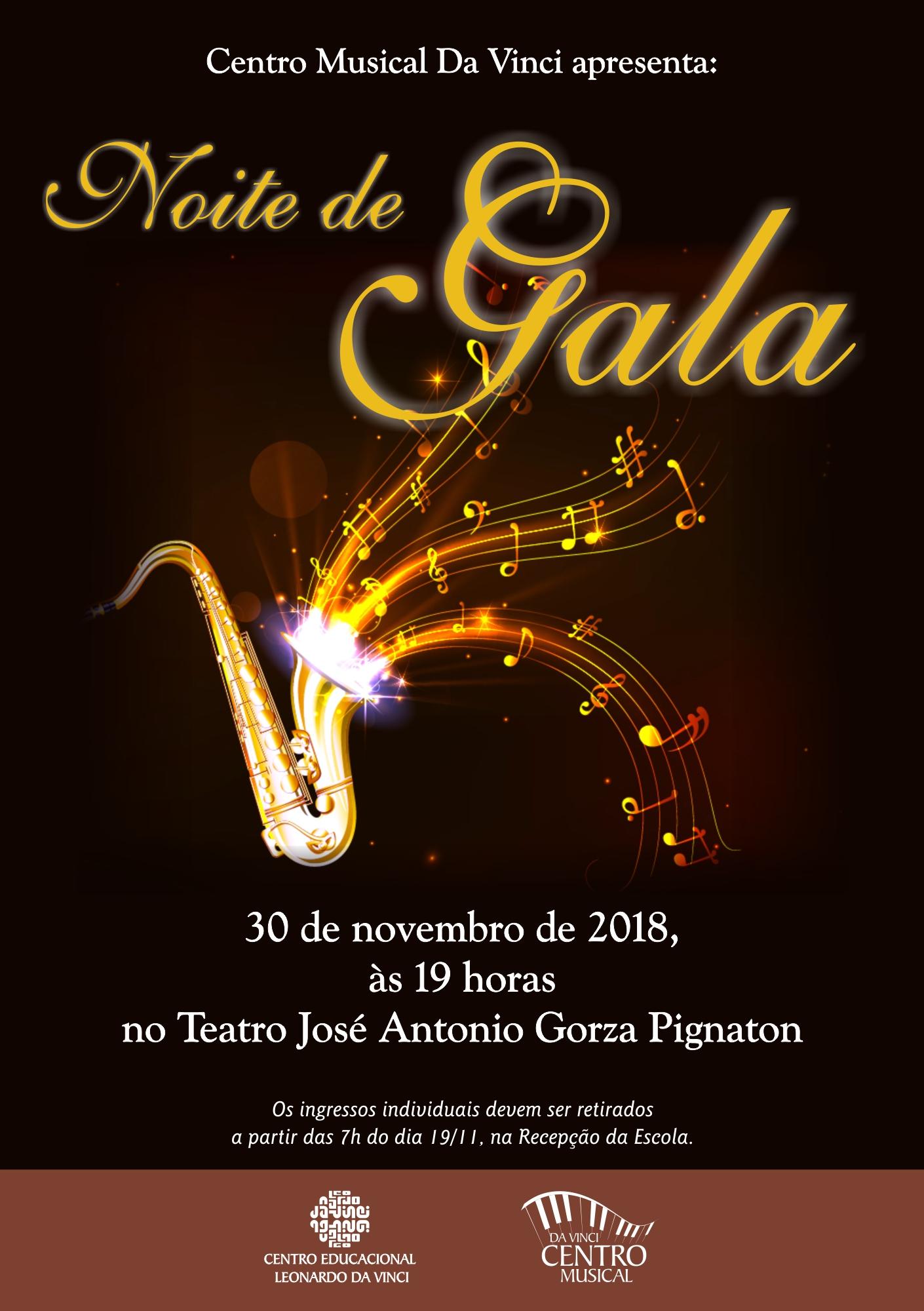 Noite de Gala - 2018 cartaz