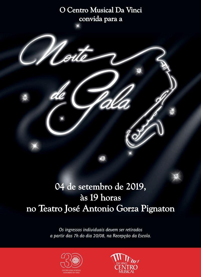 Convite - Noite de Gala 2019