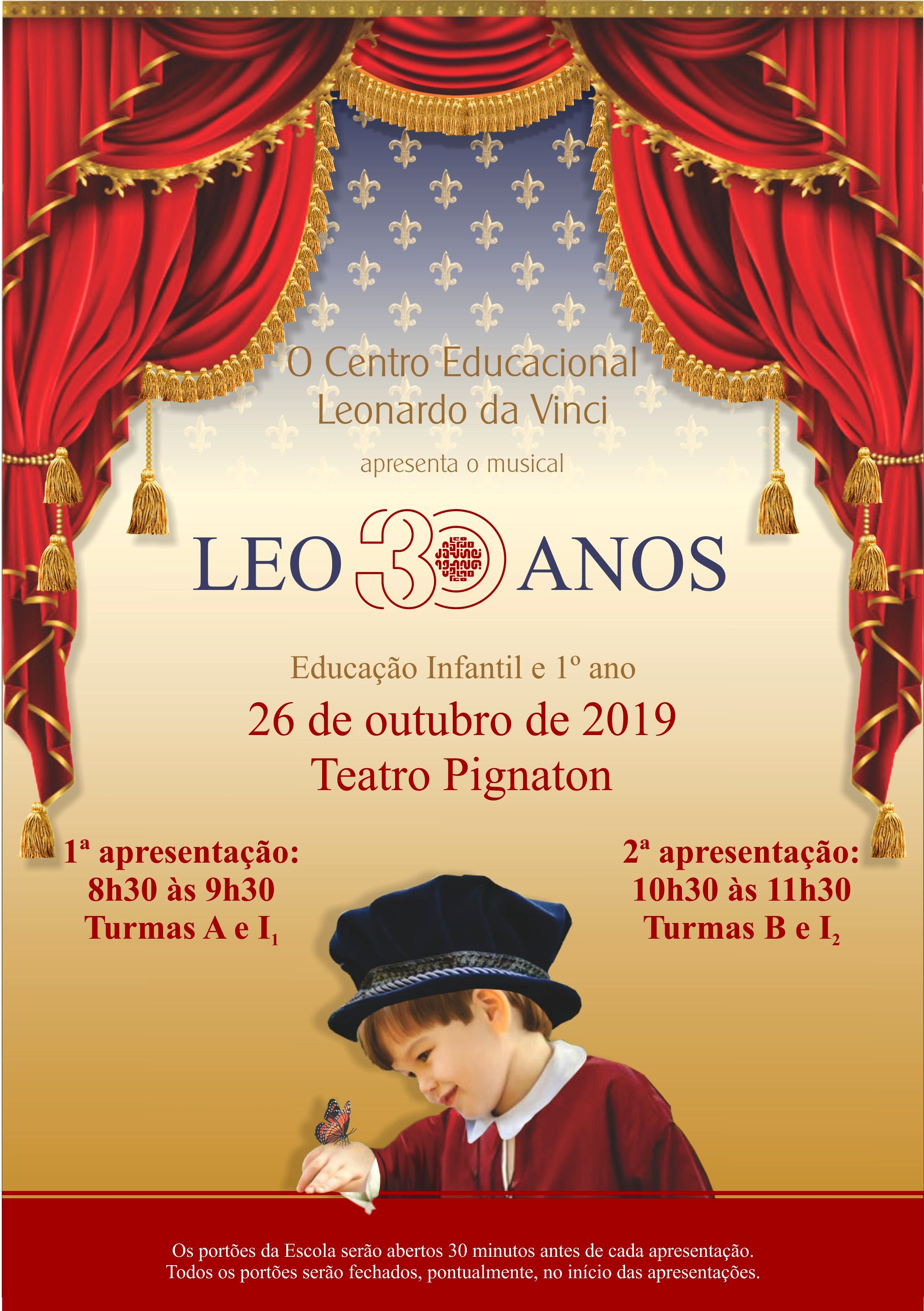 Cartaz - MUSICAL LEO 2019
