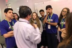 01/11: aula com Dr Weiping Yu